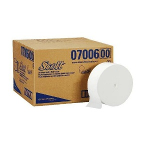 "7006 2PLY JRT CORELESS TISSUE SCOTT JRTjr 3.78""x 1150' 12/CS"